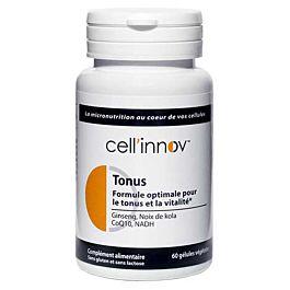 Formule Tonus Cell'innov - Coenzyme Q10 + NADH + Ginseng